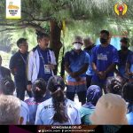 Ketua Komite Olahraga Nasional Indonesia (KONI) Jawa Barat, Ahmad Saefudin berpesan kepada atlet kontingen Jabar PON XX Papua 2021 agar menjaga kesehatan dan menghindari penularan COVID-19. Dok: konijabar.or.id