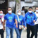 Gubernur Jawa Barat, Ridwan Kamil beserta rombongan tiba di Jayapura, Papua untuk menghadiri pembukaan PON XX Papua 2021. Dok: @koni_jabar