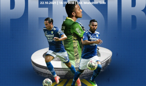 Persib Bandung dijadwalkan akan bertemu PSS Sleman pada pertandingan lanjutan Liga 1 di Stadion Manahan Solo, Jumat (22/10/2021) pukul 18.30 WIB. Dok: persib.co.id.