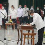 Atalia Praratya dilantik sebagai Dewan Kehormatan Pengurus Palang Merah Indonesia (PMI) Jawa Barat periode 2021-2026. Dok: Humas Jabar.