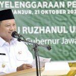 Pemerintah Daerah (Pemda) Provinsi Jawa Barat siap membina pondok pesantren sesuai peraturan presiden dan perda tentang pesantren. Dok: jabarprov.go.id.