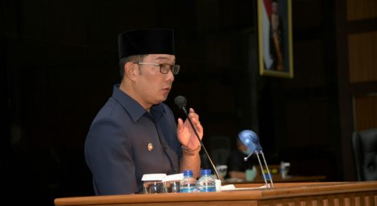 Gubernur Jawa Barat, Ridwan Kamil mengatakan pengembangan EBT di Jabar termasuk pengelolaan sampah menjadi energi menjadi salah satu komitmen Jabar dalam pengelolaan energi berbasis lingkungan atau green energy. Dok: humas.jabarprov.go.id