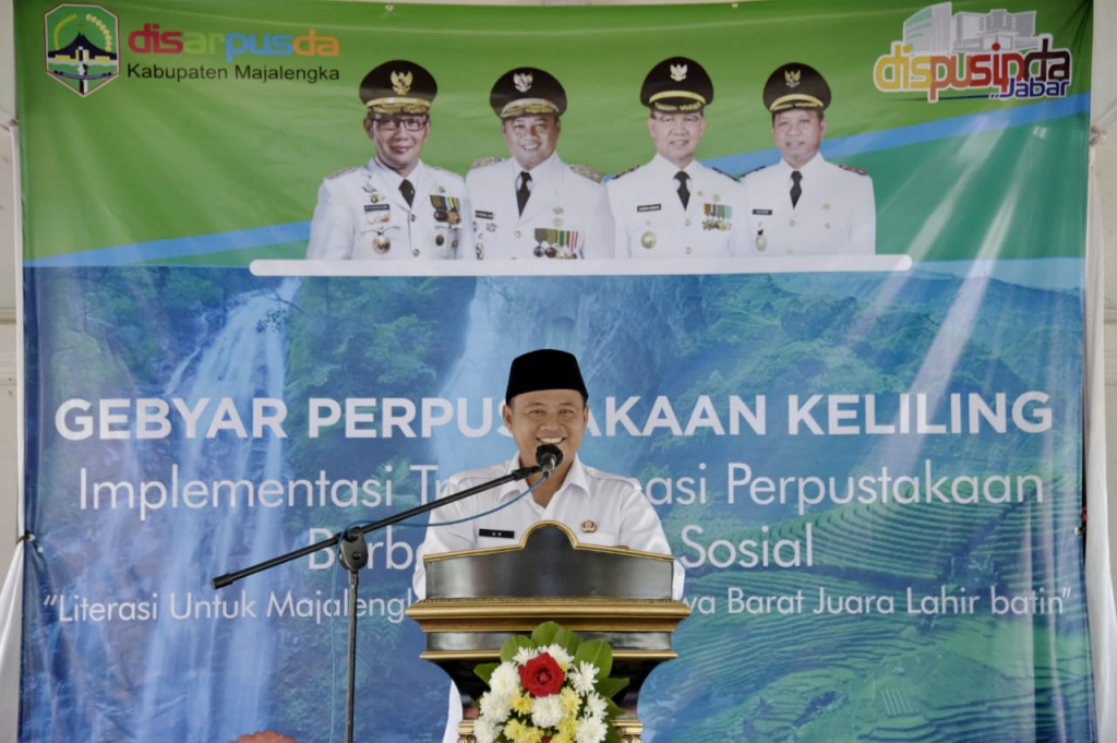 Guna meningkatkan minat baca dan tingkat literasi, Pemda Provinsi Jawa Barat mendukung upaya mendekatkan perpustakaan ke masyarakat. Dok: humas.jabarprov.go.id