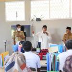 Wakil Gubernur (Wagub) Jawa Barat (Jabar) Uu Ruzhanul Ulum meninjau pelaksanaan pembelajaran tatap muka (PTM) secara terbatas di SMK Negeri 1 Puncak, Kabupaten Bogor, Senin (11/10/2021). Dok: humas.jabarprov.go.id.