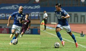 Mohammed Bassim Rashid (kiri) dan Marc Klok (kanan), duet teranyar gelandang tengah Persib Bandung. Dok: Instagram @persib